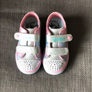 Light up Skechers Twinkle Toes size 8